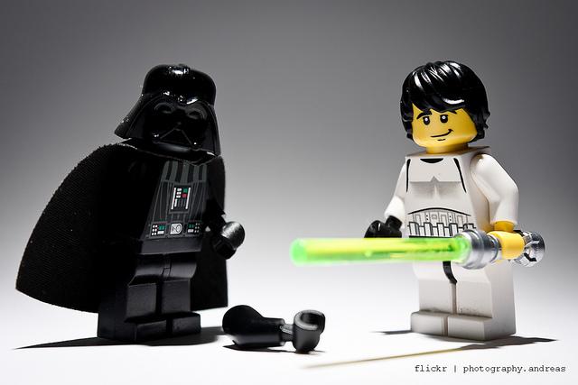Darth Vader e Luke Skywalker