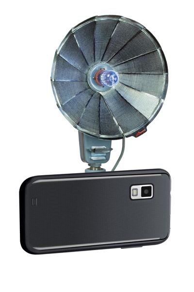 smartphone com flash antigo