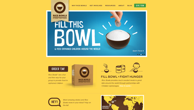 Rice Bowls | Fight Hunger
