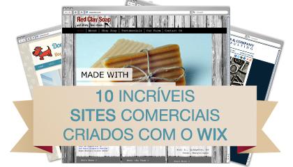 10 Incríveis Sites Comerciais Criados com o Wix - 0