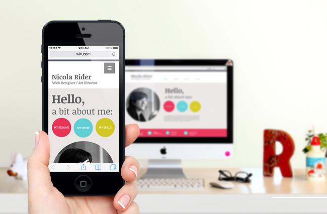 Novo Editor Mobile do Wix