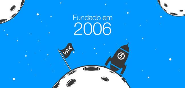 Wix é fundado em 2006