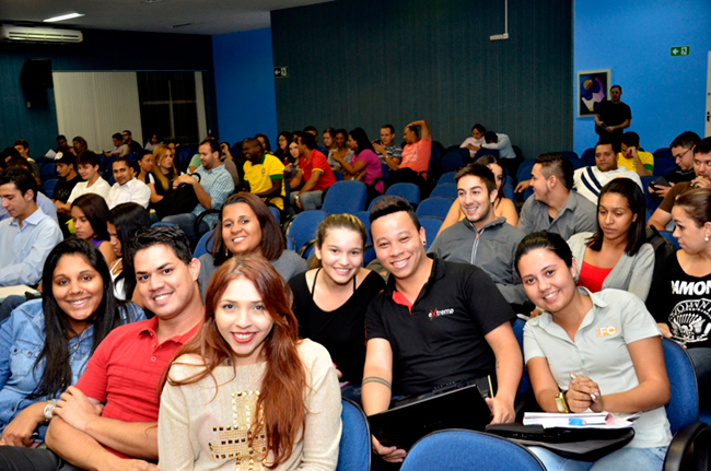 Palestra na Universidade Estácio de Sá - Rio de Janeiro