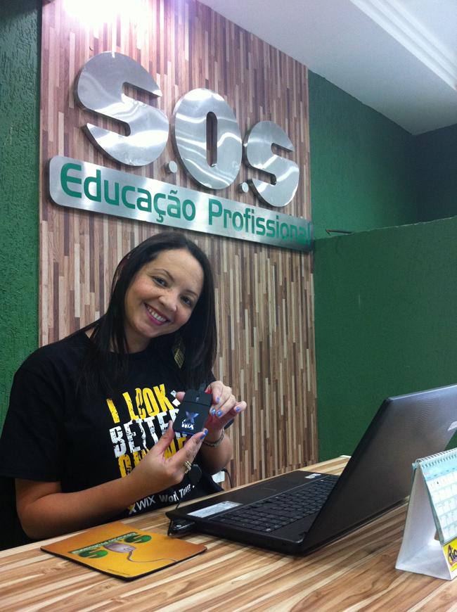 Aula na Escola SOS Educação Profissional