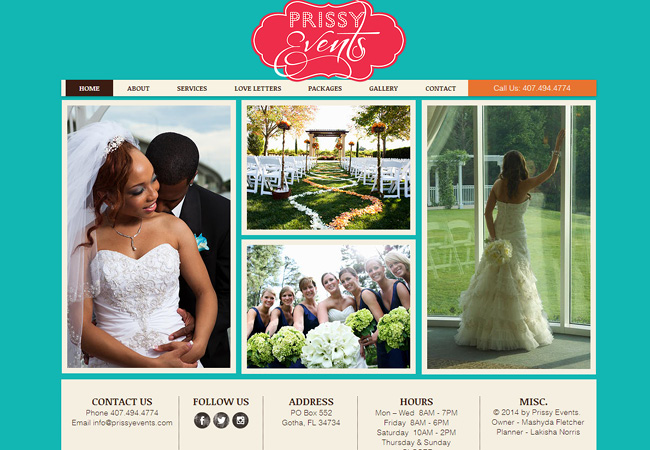 Prissy Events >>