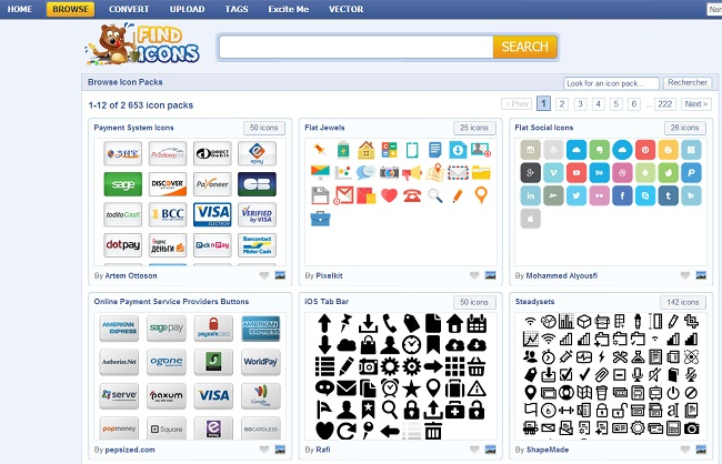 Find Icons