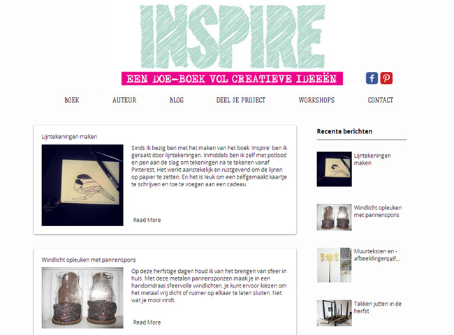 Inspire DIY Book & Blog