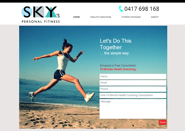 Sky's Personal Fitness