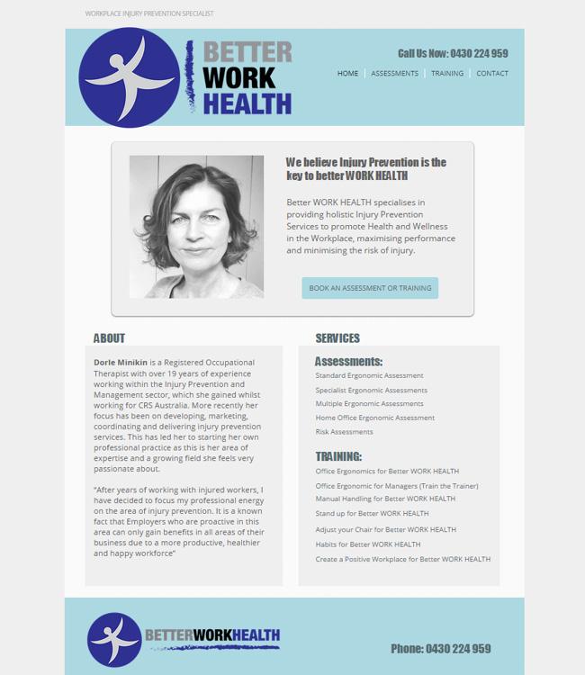 Better Work Health