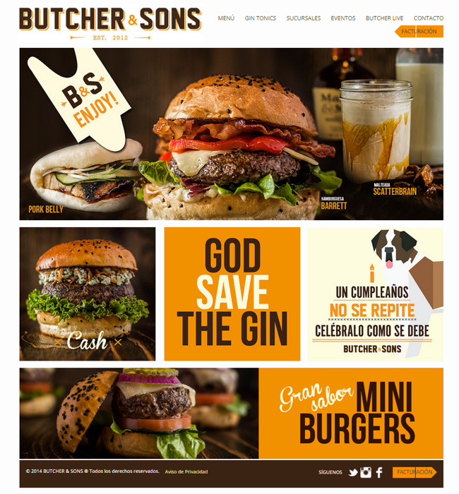 Butcher & Sons