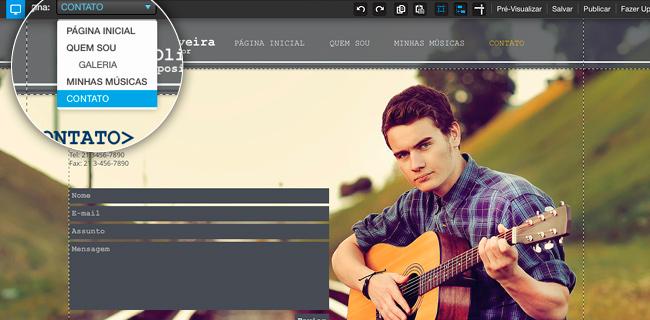 Novo Recurso do Wix - Um Background Para Cada Página!