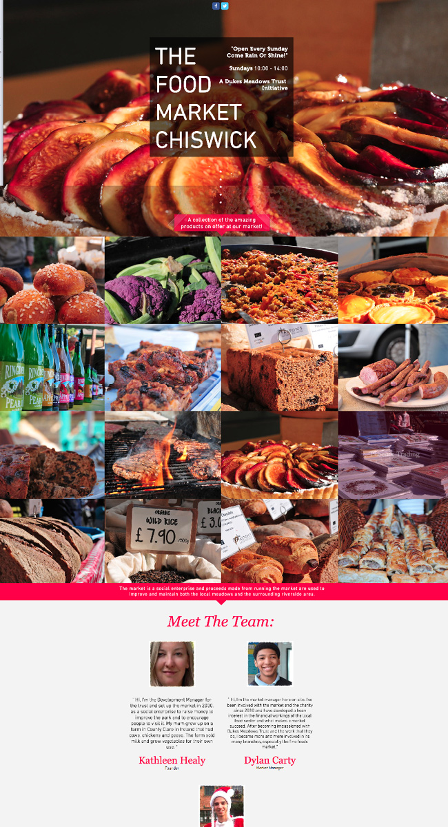 The Food Market Chiswick >>