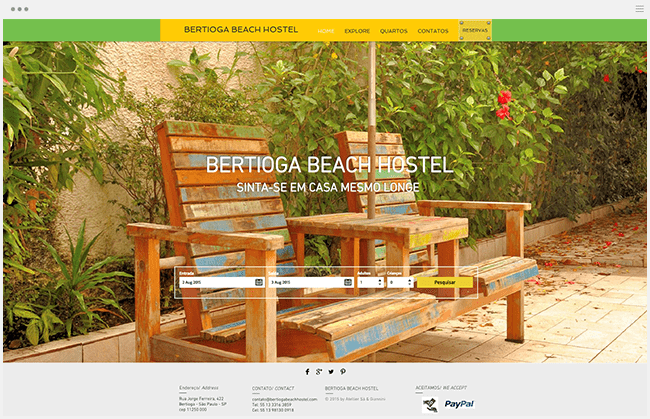 Bertioga Beach Hostel