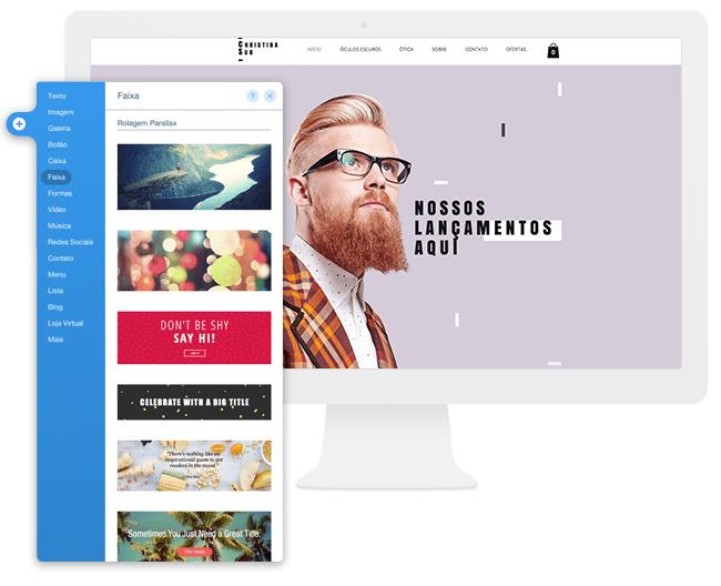 Faça Seu Site Virar uma Sensação Visual com Faixas Largas