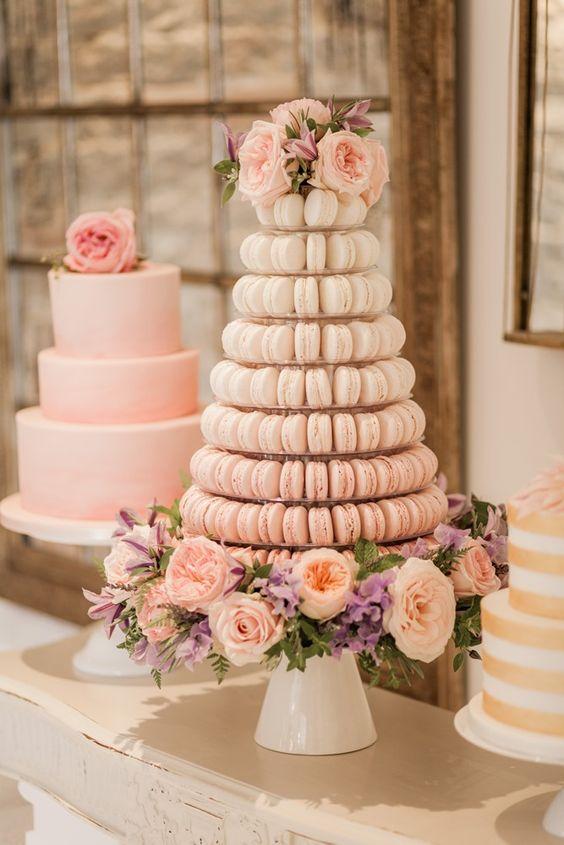 macaroons-cake