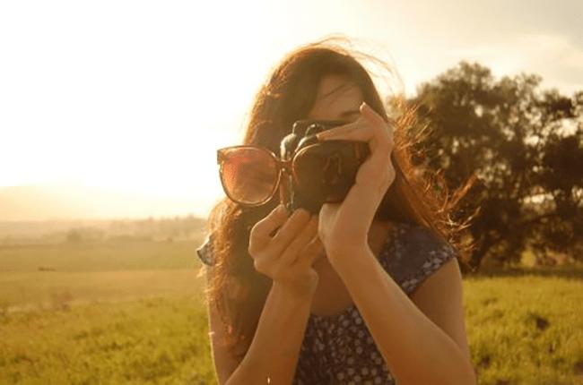 Filtro com o Bom e Velho Óculos de Sol