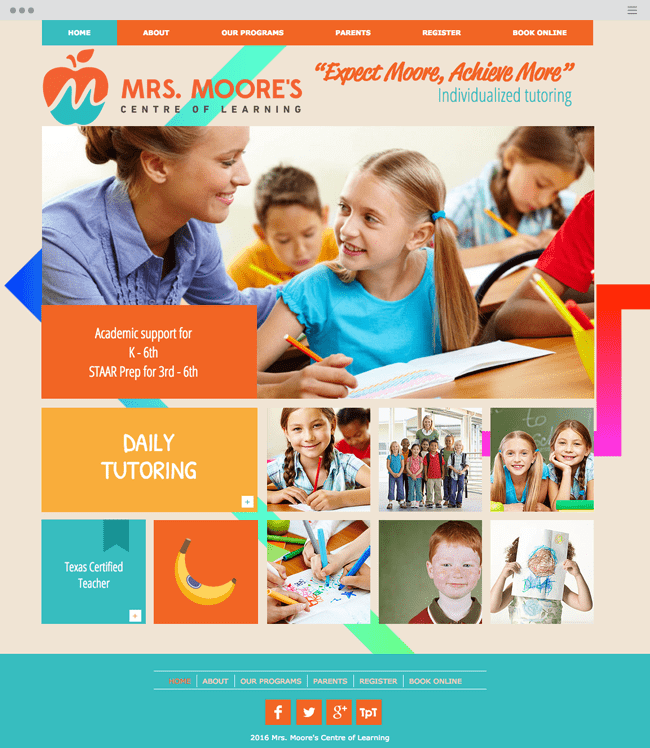 Mrs. Moore's Centre of Learning